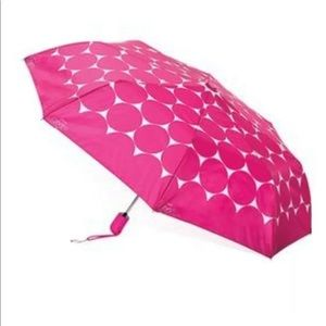 Thirty-one Hot Pink/White Polkadot Umbrella